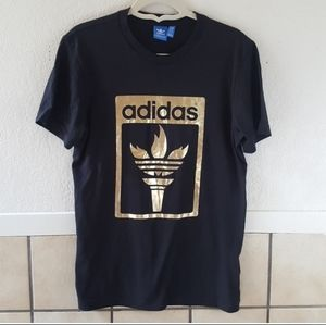 Adidas Rare  Olympics Spell Gold Trefoil Flame Med